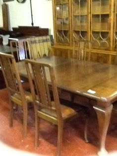Tables and Bookcases