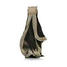 satin ball gown/saree