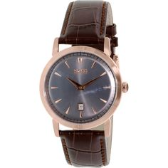 Hugo Boss Men's 1513122 Brown Leather Quartz Watch