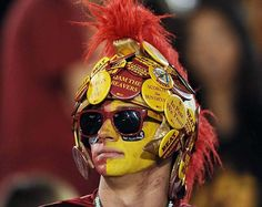 This #Trojan fan got creative! But who wouldn't support #USC this year? After all they made it to the coveted #2 spot on the #SITop25