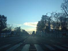Shinny morning on Paris