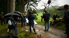 NEW BTS Photoshoot of Sam Heughan from Barbour | Outlander Online
