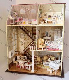 doll houses   ... -DIY-house-Only-Yesterday-Doll-house-Baby-house-Light-house.jpg
