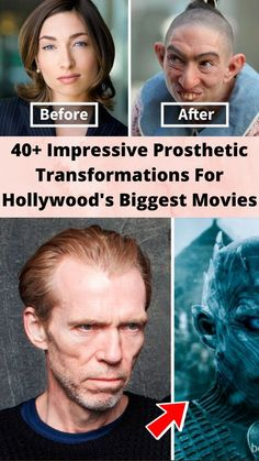 40+ #Impressive Prosthetic #Transformations For #Hollywood's Biggest Movies