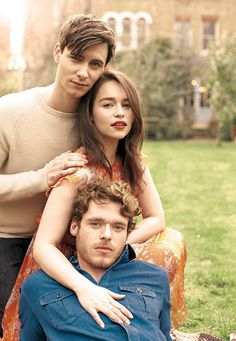 Can you believe who these people play on game of thrones?? The Targaryens and Robb Stark??