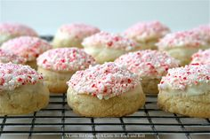Peppermint Almond Bark Cookies | 49 Things That Taste Like Christmas