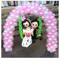 Bride and Groom Balloon