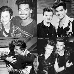 """[Adam is] one of my very best friends"" - Chris"