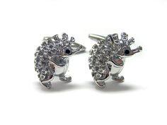 Hedgehog Cufflinks