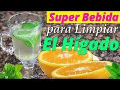 Como Desintoxicar El Hígado Con Esta Bebida Para Bajar De Peso Con Naranja Y Limón - YouTube