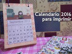 Ya queda menos para el año que viene. ¡Preparamos un calendario actualizado! ¿Te animas?
