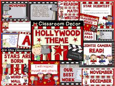 Suggestions and tips for a Hollywood themed classroom are provided.  FREE Hollywood themed homework passes are also available.  Read this blog post about themes and decorations that can be used in elementary school classrooms.  Themes include dog, jungle, hollywood, pirate, and farm.