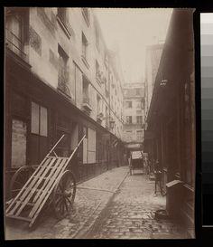 Passage Moliere Vue prise de la rue St. Martin (3e arr) - Eugène Atget