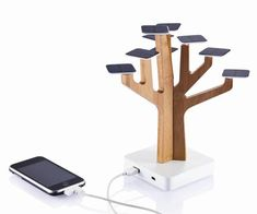 Solar charger for iPhone! - Iphone USB Cable - Ideas of Iphone USB Cable - Solar charger for iPhone! Gadgets And Gizmos, Tech Gadgets, Cool Gadgets, Usb, Solar Energy, Solar Power, Renewable Energy, Wind Power, Solar Charging Station