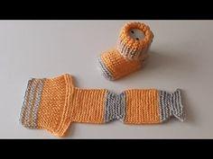 Baby Cardigan Knitting Pattern, Baby Knitting Patterns, Knitting Socks, Baby Patterns, Knit Baby Dress, Crochet Baby Booties, Knit Crochet, Filet Crochet Charts, Baby Shoes Pattern