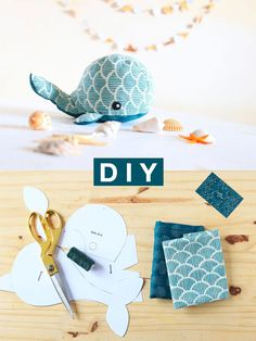 DIY Couture: The Whale Plush and its pretty vague patterns - Sew a whale plush from a really good pattern. Diy Couture, Couture Sewing, Sewing Toys, Baby Sewing, Sewing Projects For Kids, Knitting Projects, Whale Plush, Diy Bebe, Love Design