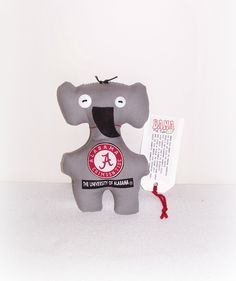 Bama Dammit Doll, Game Day Doll,Stress Anger DE-Stress University Of Alabama Roll Tide Elephant Mascot Dammit Doll, AlaBama Doll EBDD#3 by ICreateAndCollect on Etsy