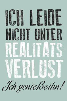"moses. Verlag GmbH Magnet ""Realitätsverlust"" | Online Shop moses. Verlag - besondere Geschenke"