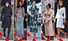 Kate Middleton's £119K shopping bill for 2017   Daily Mail Online