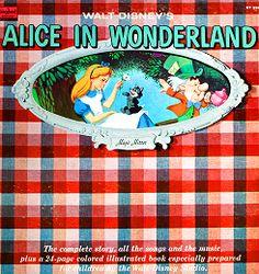 Disneyland Records - Alice in Wonderland