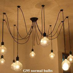 Cheap Loft americano annata lampade a sospensione ristorante/camera da letto/bar…