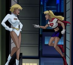 Galatea (supergirl's clone) one of my favorite dc villains ...
