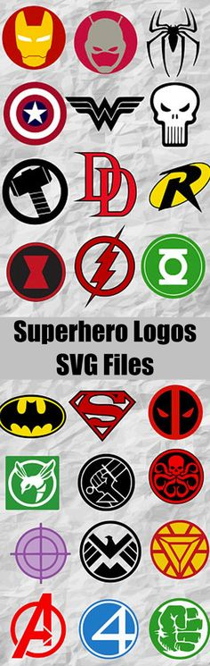 24 Superheroes Logo ClipArts | Superheroes SVG cut files | Superheroes Bundle | digital file | vectors | instant download | printable #logo #superhero #svg #ad #silhouette #cutfile #superman #shield #hulk #hawkeye #avengers #fanstastic4 #ironman #deadpool #batman #captainamerica #antman #spiderman #wonderwoman #punisher #thor #daredevil #robin #blackwidow #flash #greenlantern