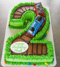 Cute Thomas The Train Cake Deweys Bakery Kids Birthday Cakes