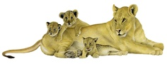 Lion and her cubs Cubs, Lion Sculpture, Statue, Animals, Art, Art Background, Animales, Bear Cubs, Animaux