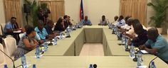 An emergency high-level meeting that was presided by the President of the Republic, State actors, the Electoral Council president and the head of the United Nations mission in Haiti was held Saturday to discuss contingency plans with regard to the cat 4, Hurricane Matthew, and the affect it may have on general elections scheduled for October 9, 2016.