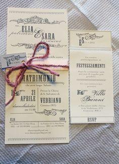Perledicotone blog: wedding Beautiful invites.