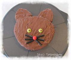 Silvia's Tortenträume: Katze aus Herzform Mieze Kuchen