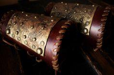 Lagertha Vikings Season 2 Inspired Bracers by VestriProductions on Etsy https://www.etsy.com/listing/255434192/lagertha-vikings-season-2-inspired