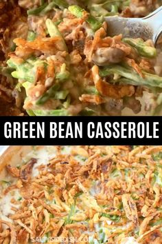 Homemade Green Bean Casserole, Healthy Green Bean Casserole, Classic Green Bean Casserole, Campbells Green Bean Casserole, Thanksgiving Green Bean Casserole, French Style Green Bean Recipe, French Green Beans, Creamy Green Beans, Healthy Green Beans