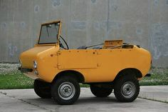 Micro car...that's one way to get around.