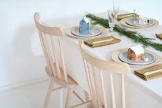HEIM  - tiny houses - one on every plate - christmas dinner