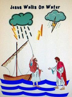 1000 Images About Jesus Walks On Water On Pinterest