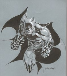"alexhchung: ""Batman by Andy Kubert """