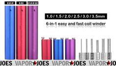 Vapor Joes - Daily Vaping Deals: GIVING IT AWAY: 6 IN 1 COIL MAKER / JIG SET - $5.6...