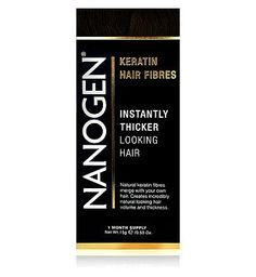 Nanogen Hair Thickening Fibres Dark Brown 15g (1 76 Advantage card points. Instantly thicker looking hair. Natural keratin fibres merge with your own hair. Creates incredibly natural looking hair volume and thickness. FREE Delivery on orders over 45 http://www.MightGet.com/february-2017-1/nanogen-hair-thickening-fibres-dark-brown-15g-1.asp