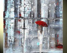 GICLEE PRINT Art Abstract Painting Dancer par ChristineKrainock