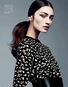 LIMEROOM beauty shoot | Marine Deleeuw by Steven Pan for Vogue Japan.