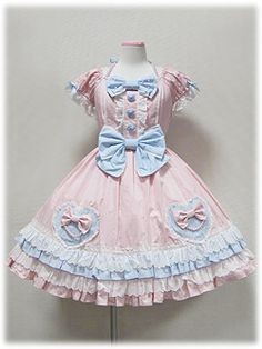 Angelic Pretty / One Piece / Color Pearl Heart OP