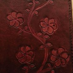 Flowering Branch Journal Cover  Ready to Ship by BoondockStudios, $125.00