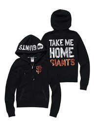 San Francisco Giants Bling Zip Hoodie