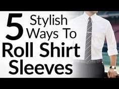 Rolling your shirt sleeves.  It's a small detail.   But it makes a huge difference in the silhouette of your outfit.   The way you roll them can keep a formal outfit formal in hotter weather.  Or take it to business casual.  It is a fundamentally simple art that takes a few minutes to mast