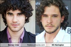 Darren Criss Totally Looks Like Kit Harington