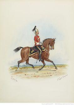 British; 1st(Royal) Dragoons, c.1884 by R.Simkin
