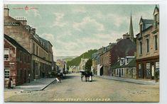Main Street Callander Scotland UK 1910c postcard | eBay