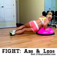 What has been the BEST FIT Focused gift you got this holiday season?  Have you used it? This Bosu isn't new, but one of my favorite workouts!  Your TOTAL BODY will get an awesome workout with focus on sculpting your ABS and LEGS!  You'll be ready to step up to Ronda Rousey! ✨Complete 10 of each move ✨Repeat 5 cycles  Go to 21DayLeanOut.com to get my free diet meal plan and extra online workouts. Plus apply to get 3 weeks of free personal training starting Jan 11